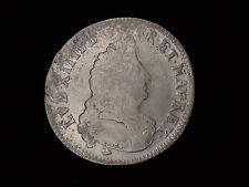 Frankreich Louis XIV. 1704 1/2 Ecu Silber überprägt