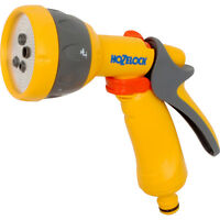 Hozelock Multi Spray 5 Way Watering Gun For Outdoor Gardening - Great Quality!