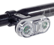 BICYCLE FRONT LIGHT SUPER BRIGHT LED WITH BRACKET & CLOTHING CLIP TURA LUNDY