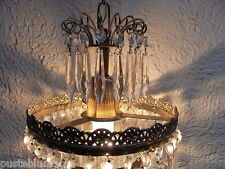 Kronleuchter Lüster Lampe Kristall Korblüster Ø20cm Deckenlampe Chandelier lamp