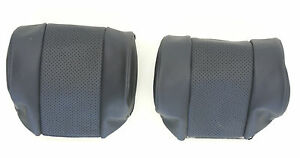 NEW JAGUAR XKE E-TYPE S2 S3 LEATHER HEAD REST COVER TO ORIGINAL SPECIFICATION
