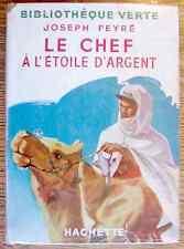 BV jaquette : LE CHEF A L'ETOILE D'ARGENT Joseph Peyré 1952