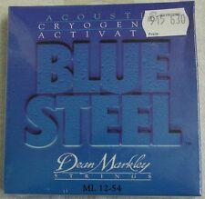 """Cordes """"Dean Markley 2036"""" ML 012 - 054 Blue Steel pour acoustique-Guitare"""