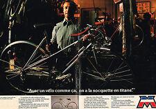 PUBLICITE  1976    MOTOBECANE MOTOCONFORT  velo  ( 2 pages) 2
