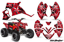ATV Decal Graphic Kit Quad Wrap For Polaris Outlaw 90 110 All Years NSTAR RED