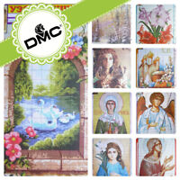 UZ-33 Cross stitch Religious Flowers Landscape Patterns - Embroidery DMC