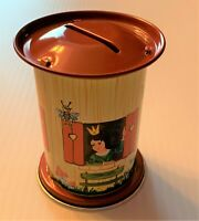 SNOW WHITE DWARVES Bank Schopper West Germany Tin Toy OUT OF PRODUCTION New!