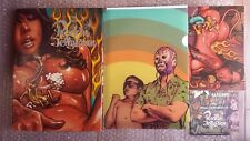 """Rare """"The Birth of Rockin' Jelly Bean"""" 1st Limited Edition Art Book w/Posters"""