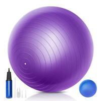 Yoga Exercise Ball Set 55cm 65cm 75 cm Swiss Ball with Mini Exercise Ball