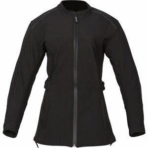 Spada Hairpin Ladies Motorcycle Motorbike Waterproof Textile Jacket - Black