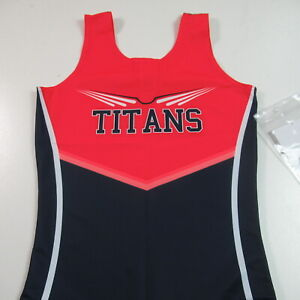 NWT Brooklyn Titans Wrestling Singlet Sample Alleson Athletic WOMENS MEDIUM