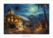 Thomas Kinkade The Nativity 12 x 18 S/N Limited Edition Paper Christmas