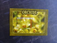 2011 CANCOUAN ORCHIDS STAMP MINI SHEET MNH