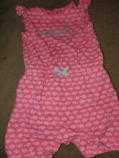 Sweet Ruffled Girls Summer Romper Size 9 months