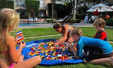 AU Kids Play Mat Bag Portable Toy Storage Organizer XL 150cm Lego Toys BrikBag
