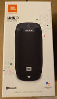 JBL Link 10 Voice-activated Portable Speaker Google Assistant Waterproof New