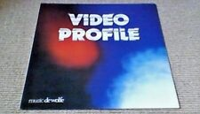 ANDY QUIN VIDEO PROFILE DE WOLFE LIBRARY LP 1986 CMI SYNTHESIZER NFL FILMS FUNK