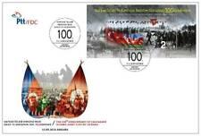 TURKEY / 2018 - (FDC) 100th YEAR OF LIBER. OF  BAKU, MNH, Mi: 4458 (Block 183)