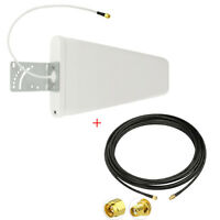 Wide-Band Log Periodic Yagi Antenna SMA for MOFI MOFI4500 Cellular 4G LTE Router
