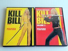 Kill Bill and Kill Bill Volume 2 (2-Disc DVD Set, 2003 & 2004)