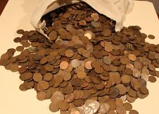 UNSEARCHED 1000 pc Bag of Lincoln Wheat Cents Average Circulated - Almost Uncirc