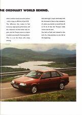Fiat Tempra Saloon & SW 1993-95 UK Market Sales Brochure SLX SX S