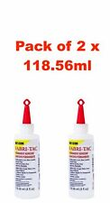 2x Bottles of Fabri-Tac 118.56 ml - Clear Adhesive - Fabric Glue Woods Washable