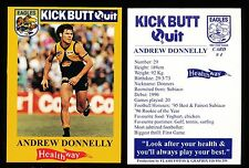 1997 West Coast Eagles Kick Butt Quit Healthway Andrew Donnelly