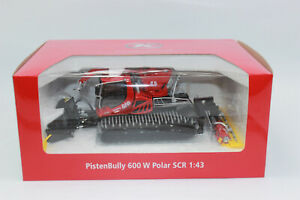 Sondersale Pistenbully PB 600 Polar With Winch + Crane Red 1:43 New IN Boxed