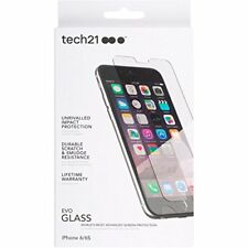 Genuine Tech21 Evo Glass Impact Resist Tough Screen Protector For iPhone 8 7 6 S