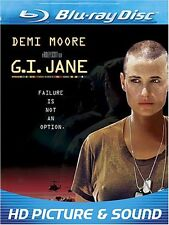 GI JANE (Demi Moore)  G.I.   -  Blu Ray - Sealed Region free for UK