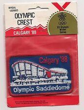 Calgary Alberta Winter Olympics 1988 Souvenir Patch