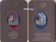 "1996 SPx PROMO BOOKLET HOLOGRAMS: MICHAEL JORDAN/HARDAWAY PROMOTIONAL""RARE ITEM"""