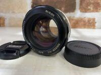 [Exc4] Nikon Nikkor S.C Auto non Ai 55mm f/1.2 MF Prime Lens from Japan #469