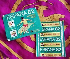 ---> Bustina sigillata Panini ESPANA 82 - VERTICAL Backside - RARE - WC WM 1982.