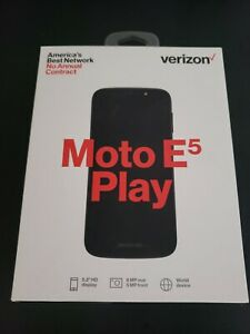 Verizon Prepaid Motorola Moto E Play - 16GB - Black