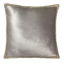 Cotton Blend Textured Square Decorative Cushions