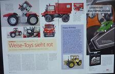 SCHLÜTER EURO TRAC 1900 LS in 1-32 von Weise Toys.....ein Modellbericht   #2013