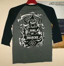 Metal Mulisha CHIBS Longsleeve Sons of Anarchy SOA Raglan Shirt Cross Neu 3/4arm