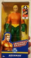 "Aquaman Justice League Action Suit Mattel 2017 DC Comics 6"" NIP New Arthur Curry"