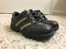 Boy's Stride Rite Brown Leather Dress Shoes, size 11.5M