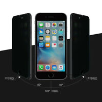 Privacy Anti-Spy Tempered Glass Screen Protector Shield for iPhone 6/7/8 Plus X