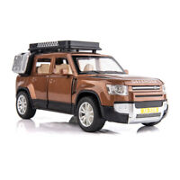 1:32 All-New Land Rover Defender Diecast Model Car Toy Collection Light&Sound