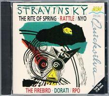 Antal DORATI & Simon RATTLE: STRAVINSKY L'Oiseau de feu Le Sacre du printemps CD