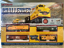 NEW Bachmann Challenger HO Scale Electric Train Set #00621 **E-Z Track System**