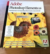 Adobe Photoshop® Elements 2.0 Full Version for Mac, Windo… New.