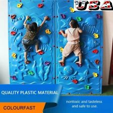20pcs Climbing Holds Set Rock Wall Stones with 40pc Climbing Nuts For Kids Usa!