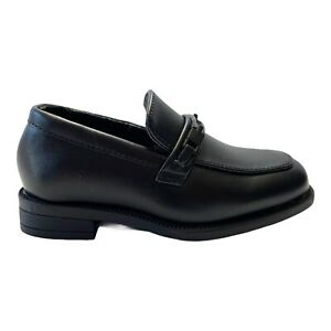 Perry Ellis Portfolio Toddler Boy Shoes Size 5 Black Party Formal Brian Loafer
