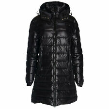 GALLIANO PIUMINO Womens Down Fill Jacket Hooded Padded Winter Long Parka Coat