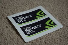NVIDIA GEFORCE GTX 1050 1060 1070 1080 PC Computer Gaming Decals Stickers 50mm